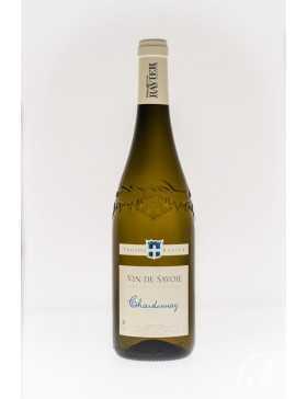 Bouteille vin blanc cépage Chardonnay de la gamme domaine