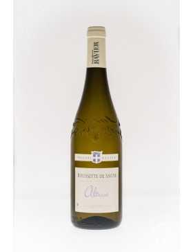 Bouteille vin blanc AOP Roussette de Savoie de la gamme Domaine