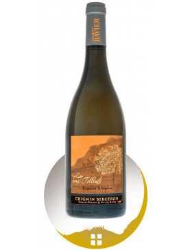 Bouteille vin blanc Les 2 Tilleuls cru Chignin Bergeron de la gamme Empreinte de Vigneron