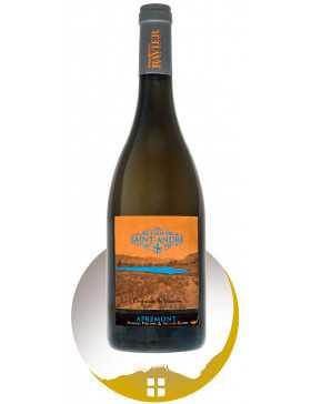 Bouteille vin blanc AOP vin de Savoie Apremont cru Clos Saint André de la gamme Empreinte de Vigneron