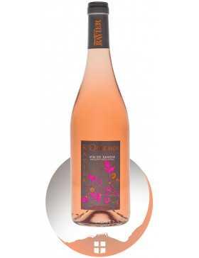 Bouteille vin rosé cépage Gamay de la gamme Nos Vins Festifs