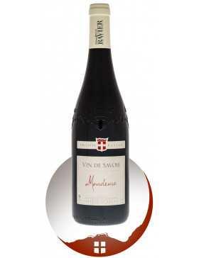 Bouteille vin rouge AOP vin de Savoie Mondeuse cépage Mondeuse de la gamme domaine