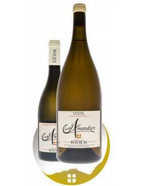 Bouteille vin blanc cru Chignin Bergeron sélection Les Amandiers de la gamme domaine