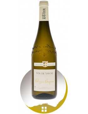 Bouteille vin blanc AOP vin de Savoie cru Chignin Bergeron de la gamme domaine