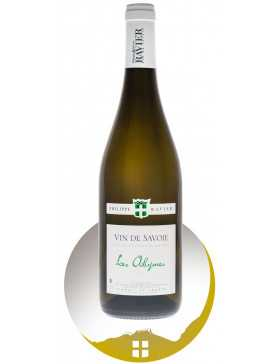 Bouteille de vin blanc AOP Vin de Savoie Les Abymes de la gamme Domaine