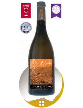 Bouteille vin blanc AOP Vin de Savoie Les Abymes - Electrik -de la gamme Empreinte de Vigneron