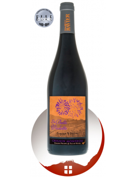 Bouteille vin rouge AOp vin de Savoie cru Chignin Mondeuse de la gamme Empreinte de Vigneron