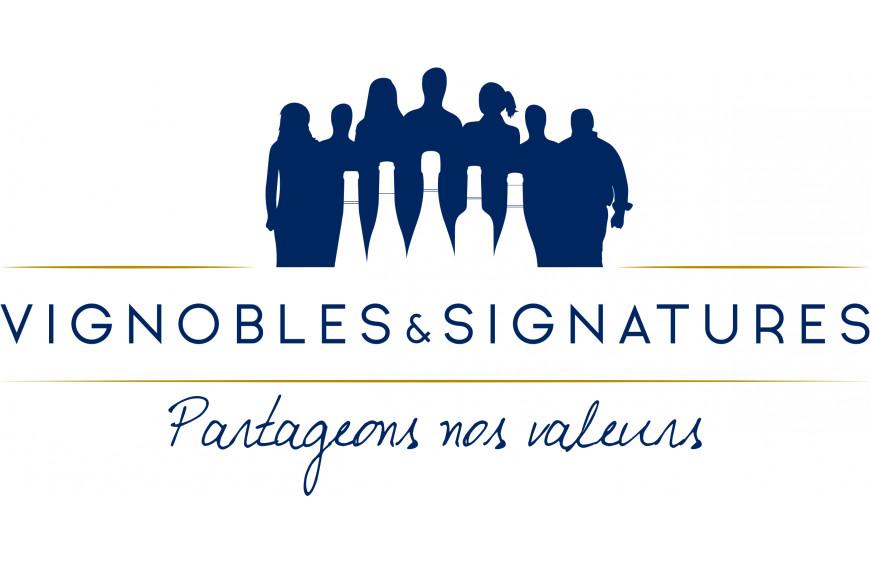 Notre domaine, nouveau membre du prestigieux club Vignobles & Signatures