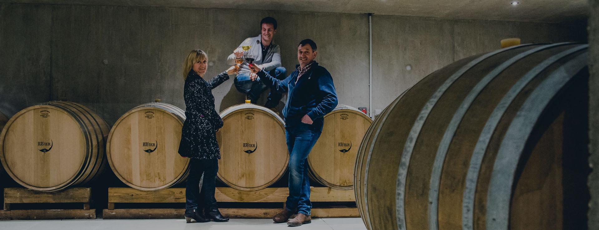 Les vins Ravier rentre dans le club Vignobles & Signatures